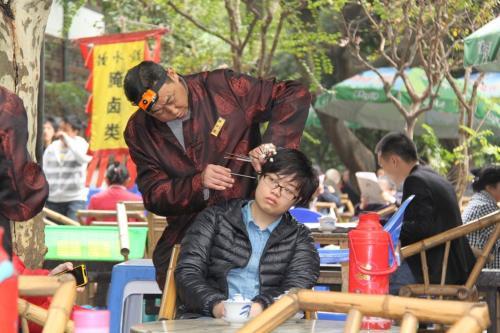 Chengdu - Oren kuisen