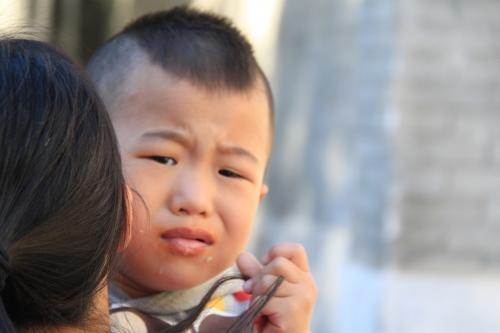 Chengdu - Rotverwende ettertjes