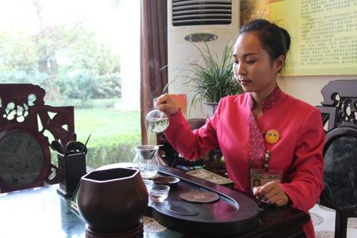 Chengdu - Tea tasting