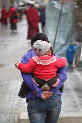 Chengdu - broek blote poep