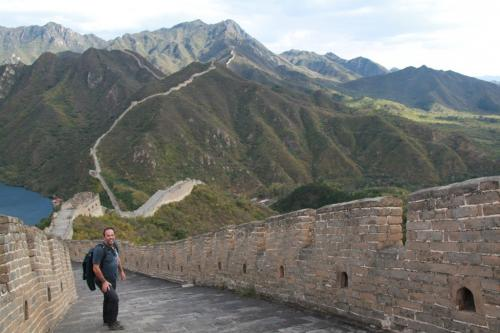 Chinese wall - Erwin Steep wall
