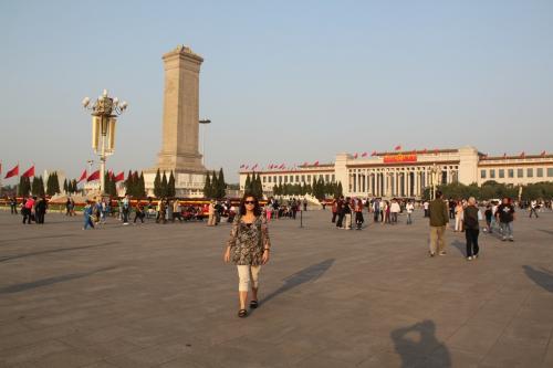 Chinese wall - Tien an Mien plein
