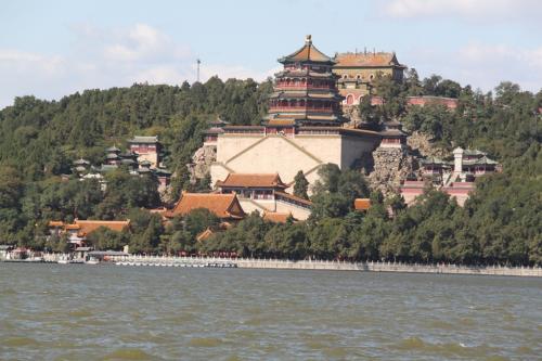 Chinese wall - Zomerpaleis
