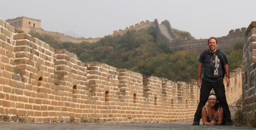 Chinese wall - feature foto D&E