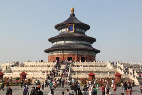 Chinese wall - hemelse tempel