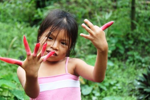 Ecuador - Kind nagels