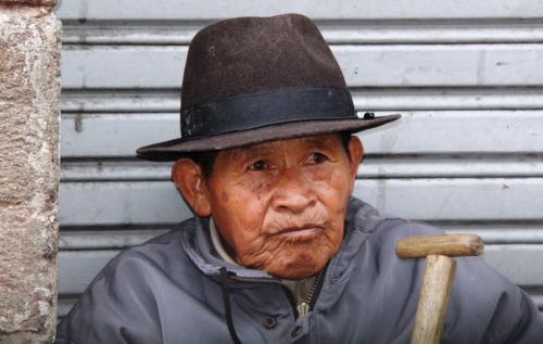 Ecuador - Oude man