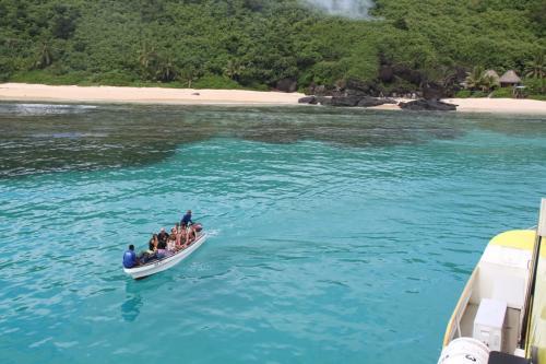 Fiji - Yasawa passagiers