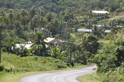Fiji - heuvelachtig