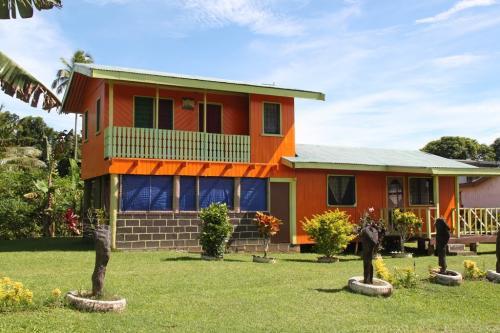 Fiji - oranje huis