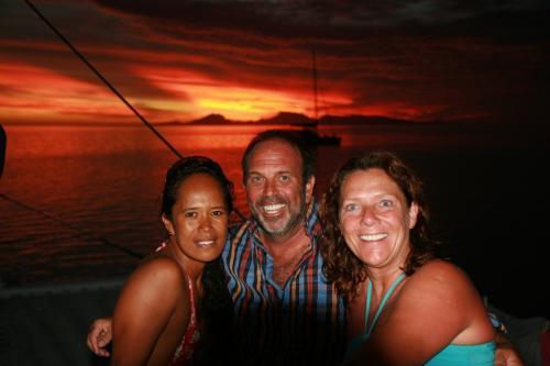 Frans Polynesie - Noeline dede erwin
