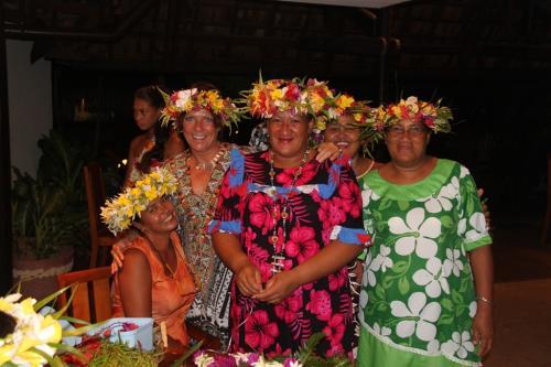 Frans Polynesie - Tahitian women