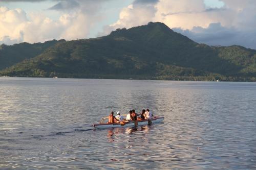 Frans Polynesie - Wawaiki Nui canoe race