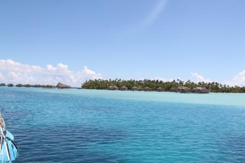 Frans Polynesie -  azuurblauw