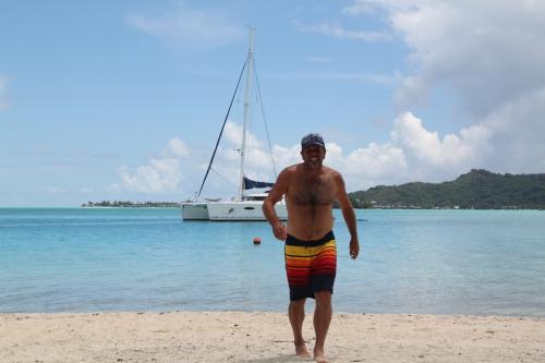 Frans Polynesie - catamaran erwin