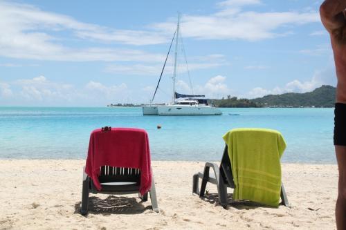 Frans Polynesie - catamaran