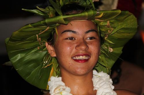 Frans Polynesie - face Tahitian