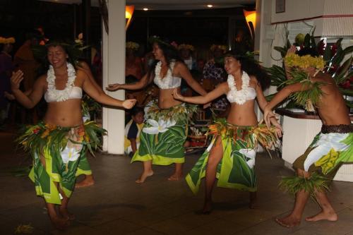 Frans Polynesie - wiebelende heupen