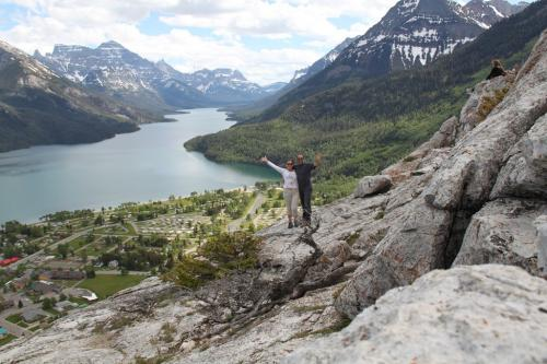 Glacier NP - Waterton met zn 2