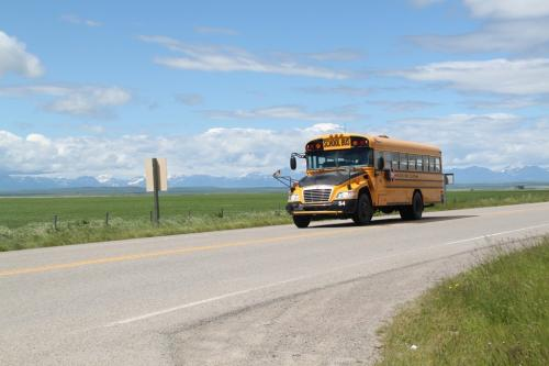 Glacier NP - schoolbus