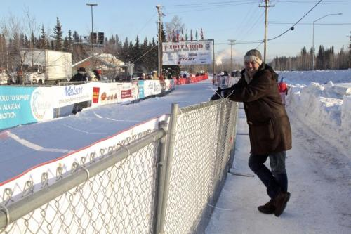 Start Iditarod race