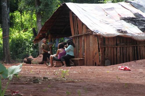 Iguazu falls - Indigenous Guarani