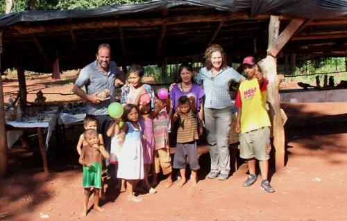 Iguazu falls - Indigenous met ons