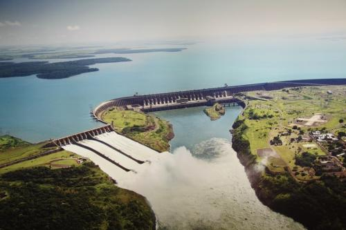 Iguazu falls - Itaipu dam