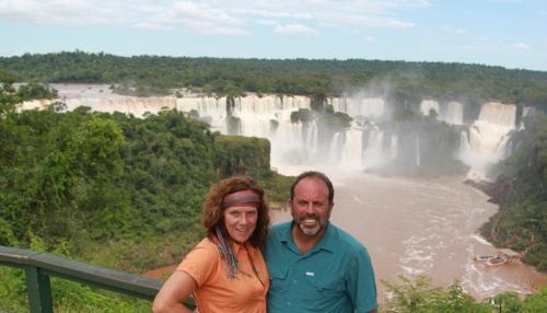 Iguazu falls - Us