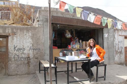 Ladakh - Lunchtime Alchi