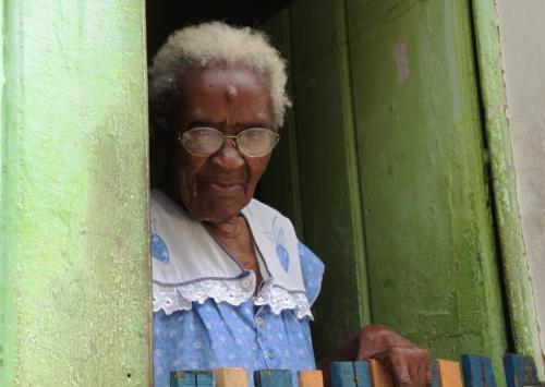 Lencois - Old woman