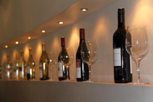 Magaret river en hun wijnen