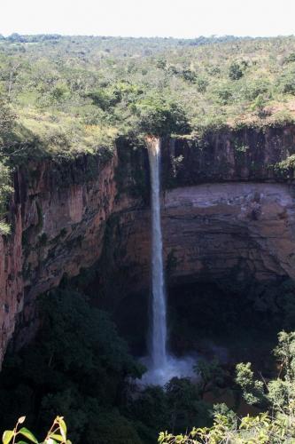 Mato Grosso - Vue de Novia falls