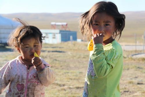 Mongolia - 2 peuters