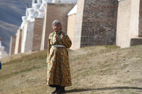 Mongolia - Dame monastere