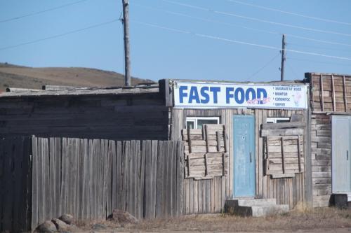 Mongolia - Fastfood