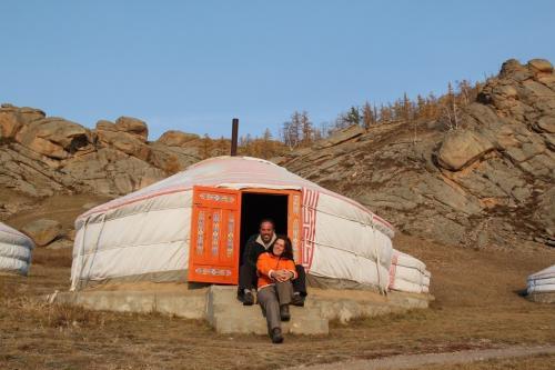 Mongolia - Ger tent met Erwin Dede