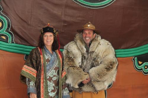 Mongolia - Kleding Dede & Erwin