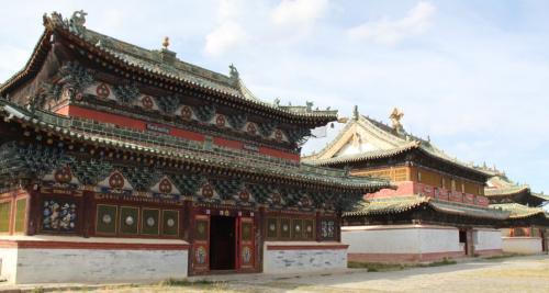 Mongolia - Klooster Erdene Zuu
