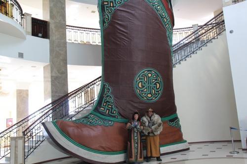Mongolia - Laars Guiness boek