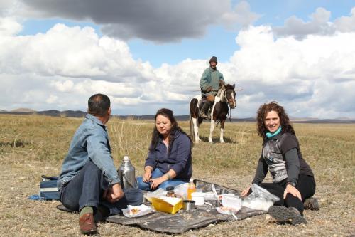 Mongolia - Picnic