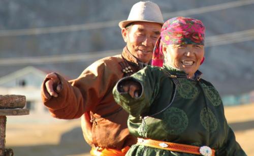 Mongolia - leuk koppel