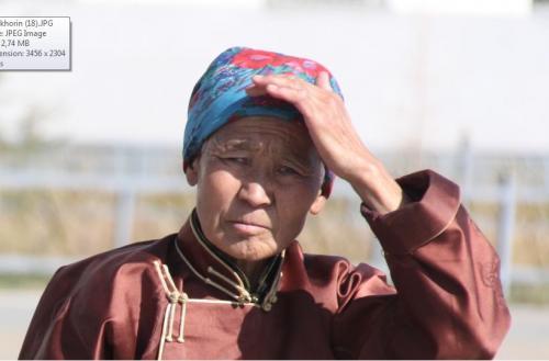 Mongolia - portret vrouw