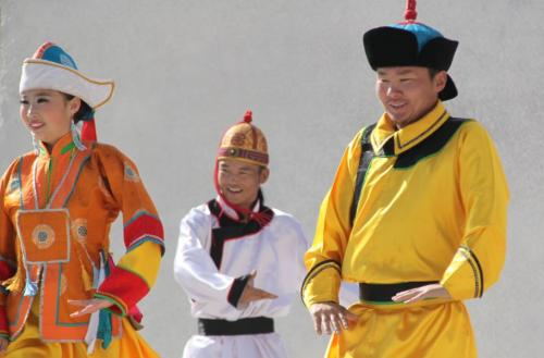 Mongolia - traditionele klederdracht