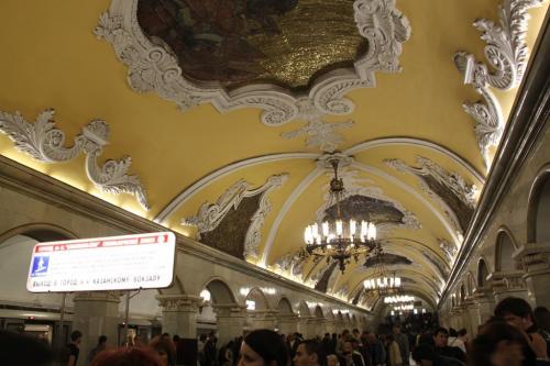 Moskou - musea metro