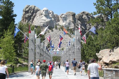 Mt Rushmore - 4 presidents