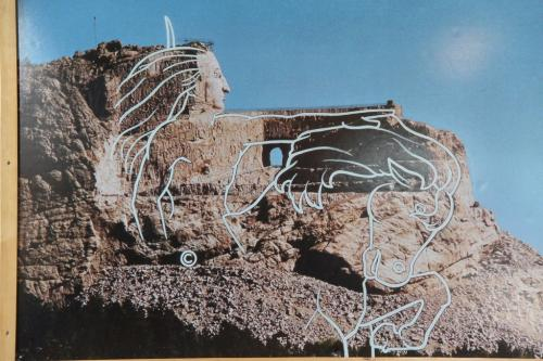 Mt Rushmore - voltooiing crazy horse