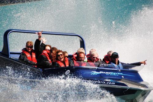 NZ - Dart river jetboat