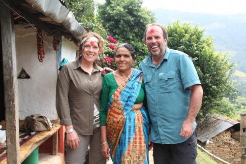 Nepal - Dashain met mama