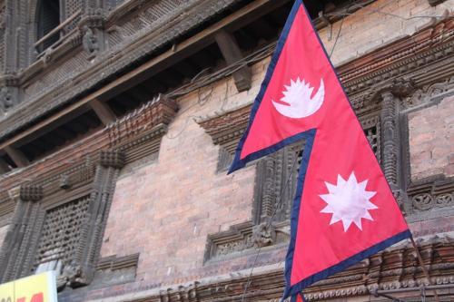 Nepal - Vlag